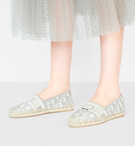 Dior Granville Espadrille Worn view cropped Open gallery