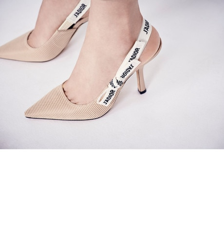 J'Adior Slingback Pump worn view cropped
