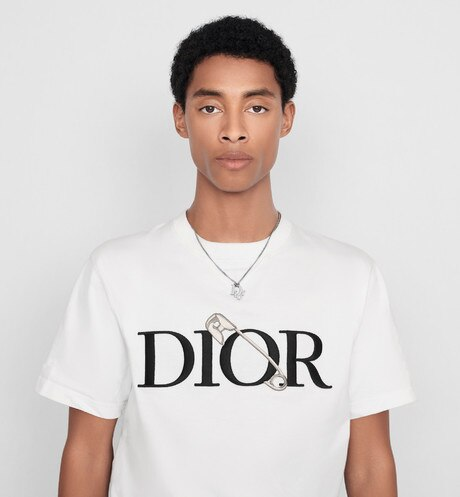Oversized DIOR AND JUDY BLAME T-shirt Worn view cropped Open gallery