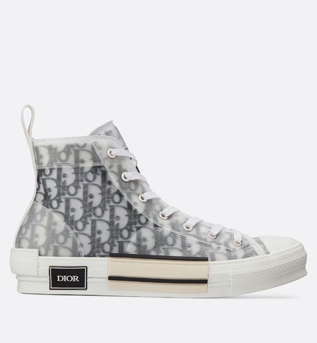 B23 High-Top Sneakers in Dior Oblique aria_profileView