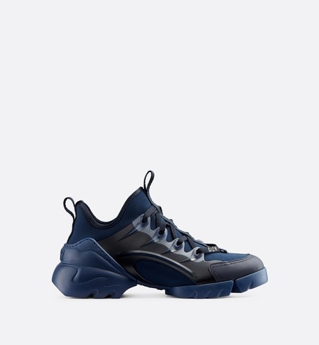 Indigo Blue D-Connect Neoprene Sneaker profile view