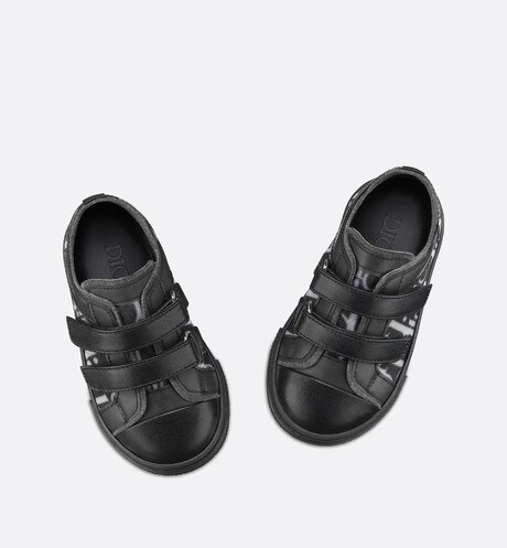 B23 low-top sneakers in technical oblique fabric aria_profileView