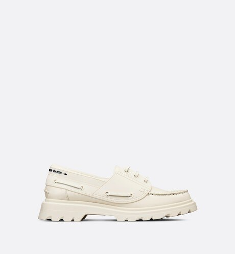 Dior Walker Boat Shoe Profile view