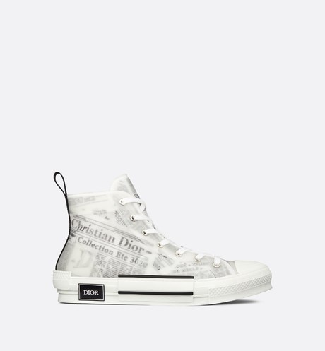 B23 DIOR AND DANIEL ARSHAM High-Top Sneaker in