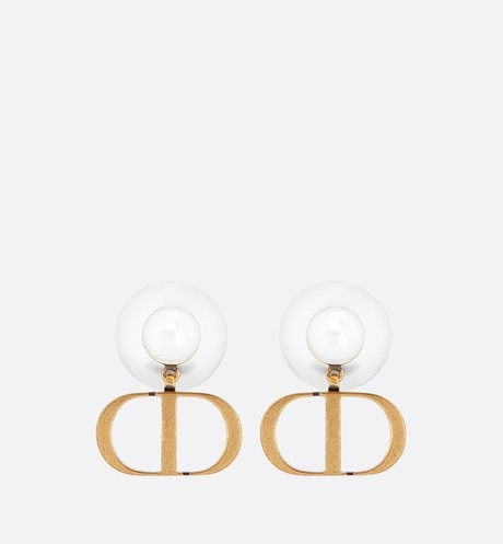 Dior Tribales Earrings Antique