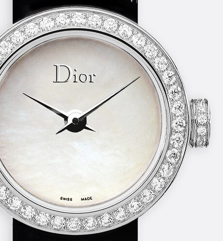 La Mini D de Dior ø 19 mm, Quarzwerk aria_threeQuarterClosedView