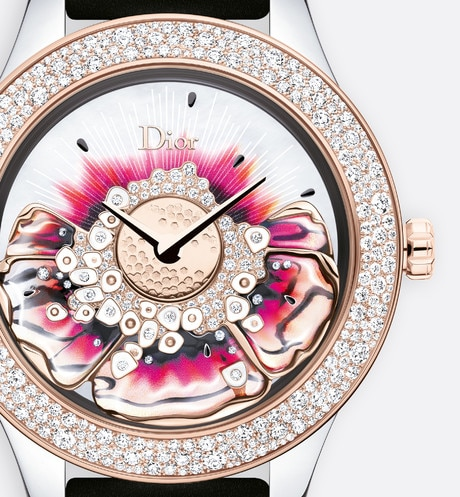 dior grand bal miss dior  Ø 36 mm, mouvement automatique, calibre « dior inversé 11 1/2 » | Dior