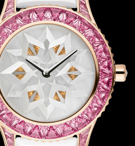 Dior Grand Soir N°47 origami ø 33 mm, automatic movement aria_threeQuarterClosedView