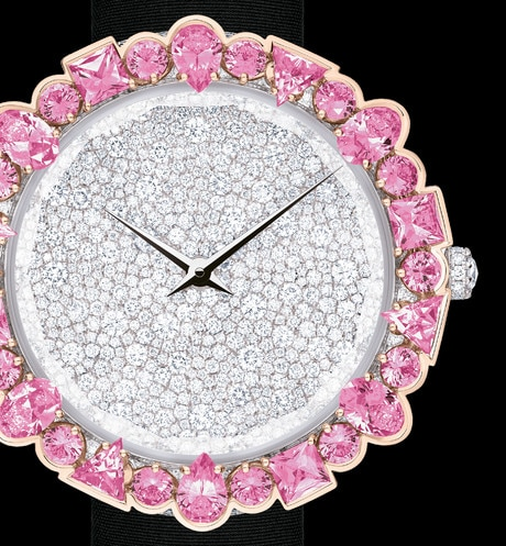 La D de Dior Sweetheart three quarter closed view