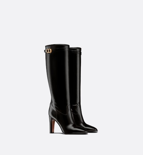 Dior Empreinte Heeled Boot Three quarter closed view Open gallery