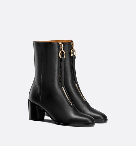 Dior Effrontée Heeled Ankle Boot three quarter closed view Open gallery