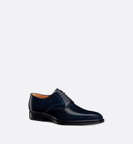 Dior Timeless Derby Shoe Three quarter closed view Open gallery