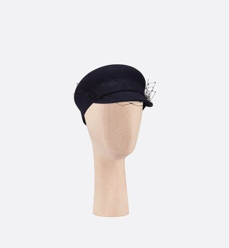 Dior Parisian Baseball Cap Three quarter closed view