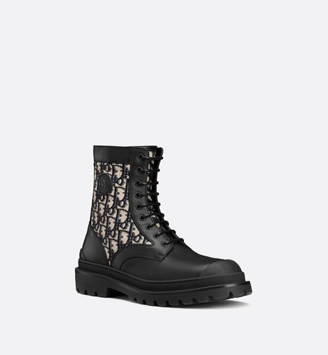 Dior Explorer Ankle Boot three quarter closed view Open gallery