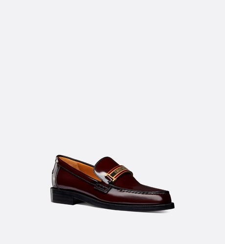 Dior Code Loafer three quarter closed view Open gallery