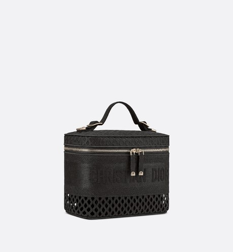 DiorTravel Vanity Case Three quarter closed view Open gallery