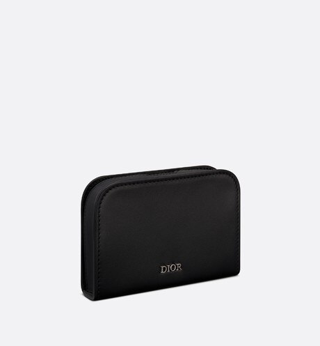 Dior Ultra Card Holder Three quarter closed view Open gallery