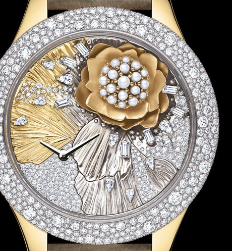 DIOR GRAND SOIR ROYAL BOTANIC N°3 Ø 36mm, quartz movement aria_threeQuarterClosedView