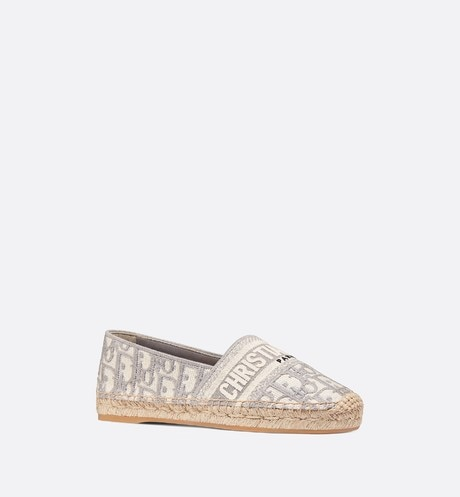 Dior Granville Espadrille Three quarter closed view Open gallery