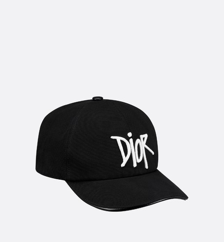 DIOR AND SHAWN Baseball Cap Three quarter closed view