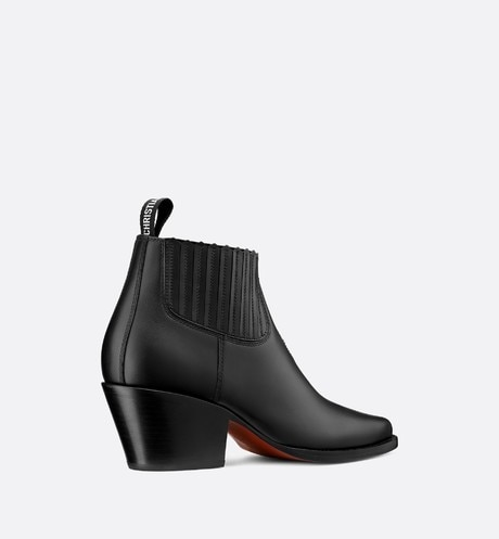 Dior L.A. Heeled Ankle Boot Three quarter back view Open gallery