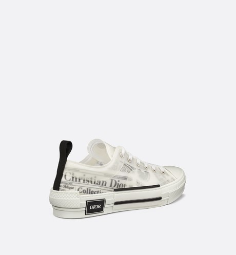 B23 DIOR AND DANIEL ARSHAM Low-Top Sneaker in