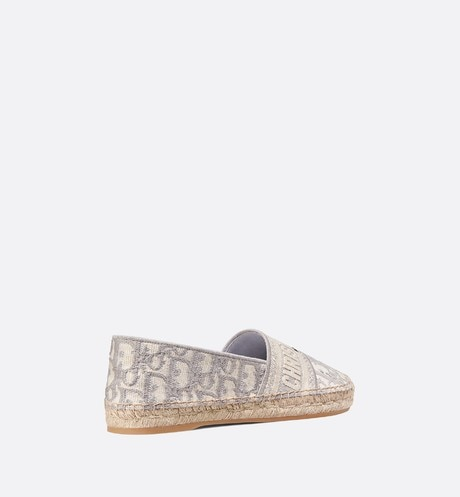 Dior Granville Espadrille three quarter back view Open gallery