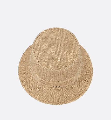 Small Brim Dior Bucket Hat Top shot view Open gallery