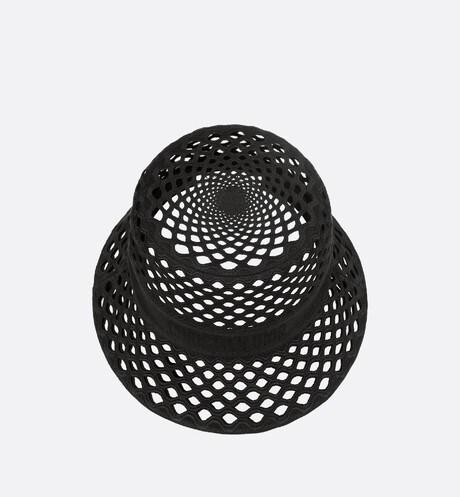 Dior Mesh Small Brim Bucket Hat Top shot view Open gallery