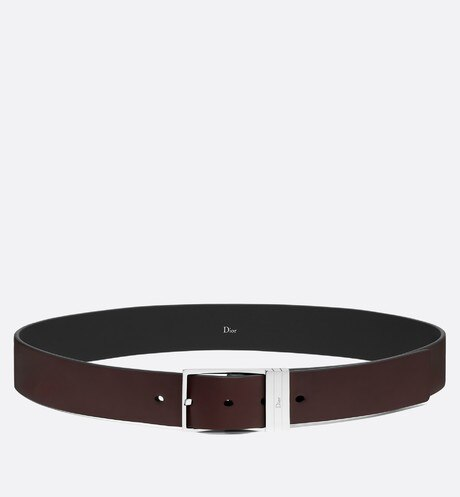 30 mm belt in brown brushed calfskin aria_topShotView