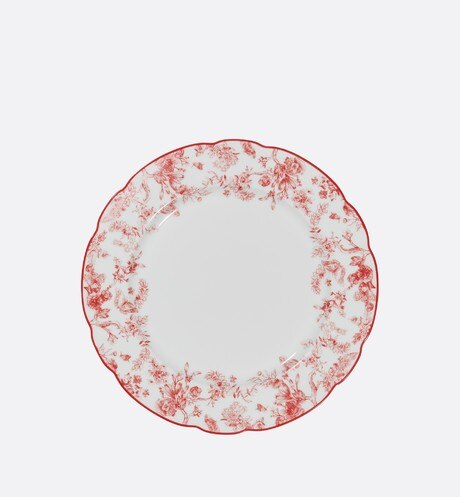 Click here to enlarge the product picture Toile de Jouy dinner plate