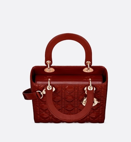 Medium Lady Dior Bag Top shot view Open gallery