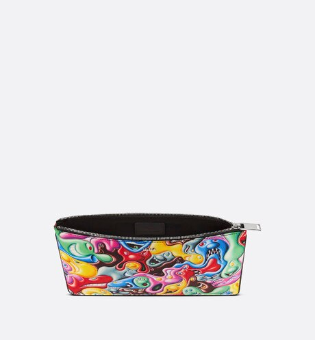 DIOR AND KENNY SCHARF Pouch Top shot view Open gallery