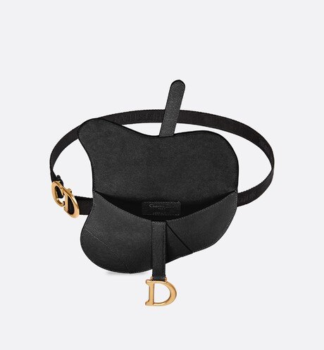 Saddle calfskin clutch aria_topShotView