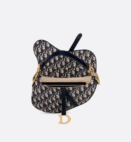 Dior Oblique Saddle bag aria_topShotView