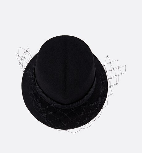 Dior Parisian Hat Top shot view Open gallery