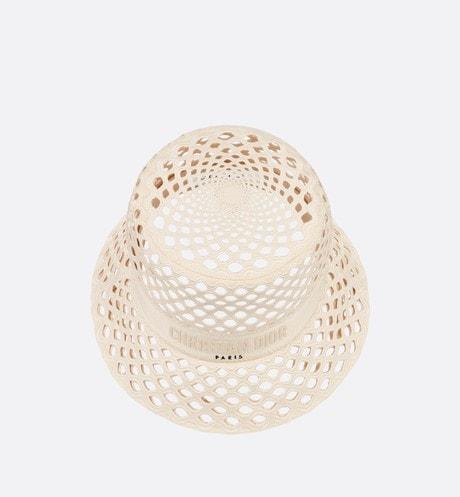 Chapéu bucket Dior Mesh com aba pequena aria_topShotView aria_openGallery