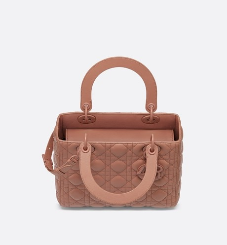 Lady Dior ultra-matte medium bag aria_topShotView