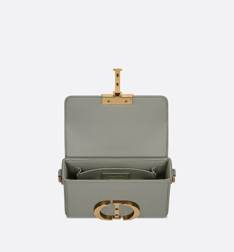 Gray Stone 30 Montaigne Box Calfskin Bag aria_topShotView