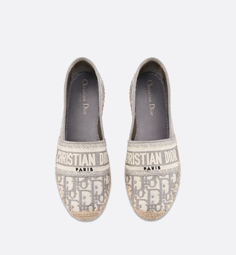 Dior Granville Espadrille top shot view Open gallery