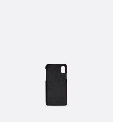 Saddle Dior Oblique case for iPhone X/XS aria_unfoldedView