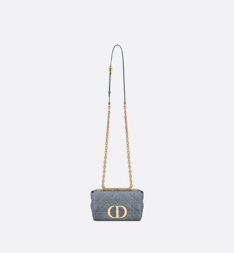 Small Dior Caro Bag Unfolded view Open gallery