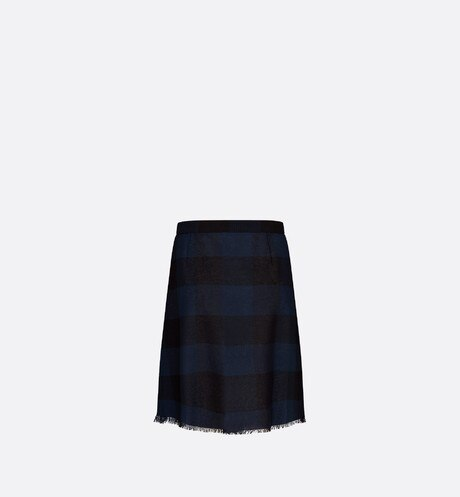 Pleated Wrap Miniskirt Back view Open gallery