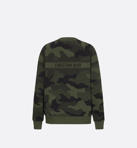 Camouflage Sweatshirt Back view Open gallery
