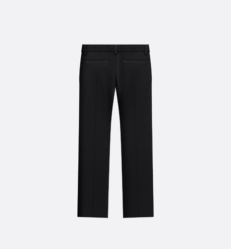 Wool gabardine trousers aria_backView