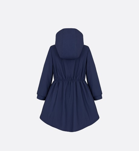 Coat in water-repellent cotton canvas aria_backView