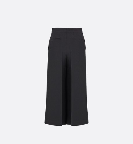 Wool and silk cropped pants aria_backView