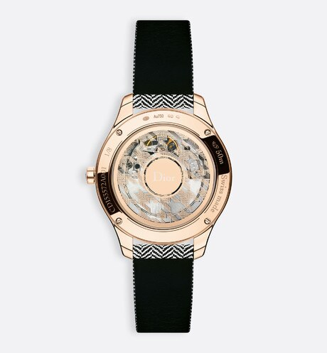 Dior VIII Montaigne tissage precieux ø 36mm, automatic movement aria_detailedView