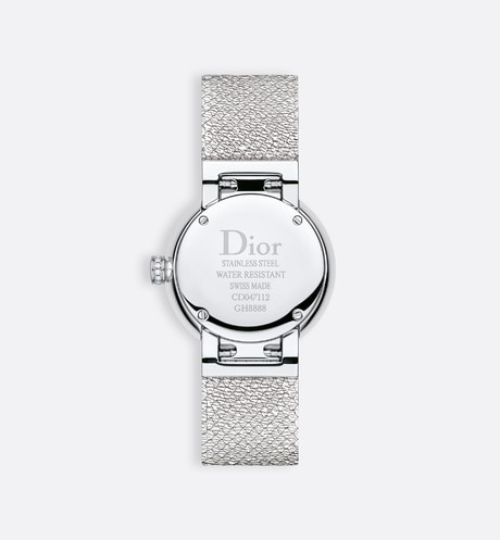 La D de Dior Satine Ø 25 mm, mouvement quartz aria_detailedView