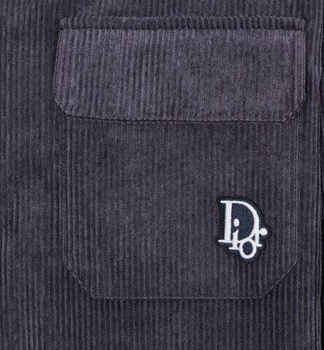 Dior Oblique Patch Overshirt Detailed view Open gallery